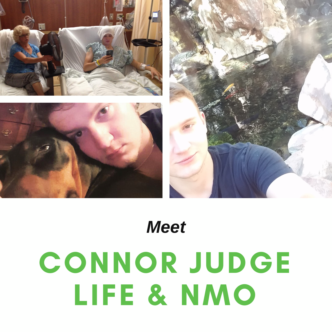 Meet Connor Judge: Life and NMO